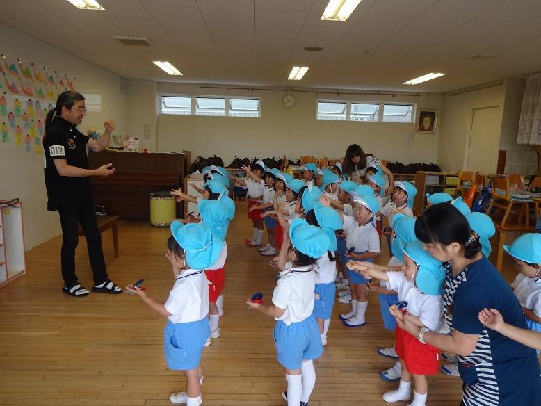 今日の幼稚園